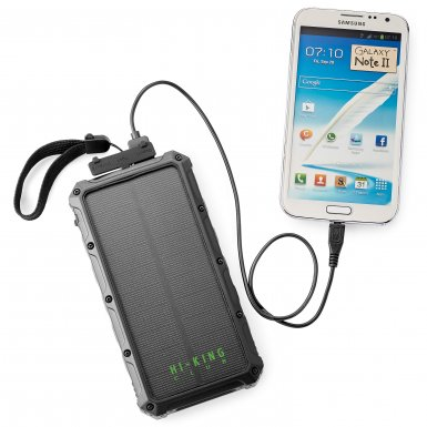 SUPER OFF-ROAD 12,000 mAh SOLAR POWER BANK
